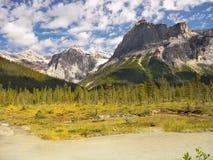 kanadyjskie góry skaliste Fotografia Royalty Free