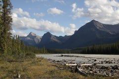 kanadyjskie góry skaliste Zdjęcia Royalty Free