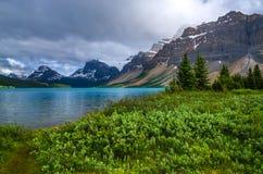 kanadyjskie góry skaliste Zdjęcia Stock