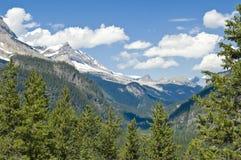 kanadyjskie góry skaliste canada Zdjęcie Royalty Free