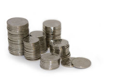 Kanadyjskie monety Obraz Stock