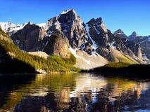 Kanadyjskie Skaliste góry i jeziora Fotografia Stock