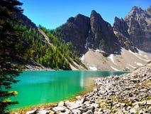 Kanadyjskie Skaliste góry i jeziora Zdjęcie Stock