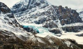 Kanadyjskie Skaliste góry - Icefields lodowiec Fotografia Royalty Free