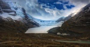 Kanadyjskie Skaliste góry - Icefields lodowiec Obraz Stock