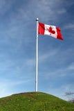 kanadyjskiej flagi Fotografia Royalty Free