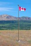 kanadyjskiej flagi Fotografia Stock