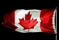 kanadyjskiej flagi obrazy stock