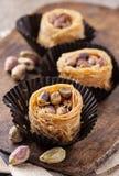 Kanafeh cheese pastry Royalty Free Stock Photo