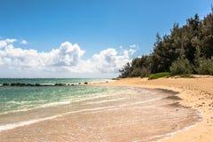 Kanaha Beach in Maui, Hawaii Royalty Free Stock Images