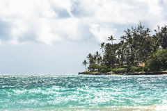 Kanaha Beach Park in Maui, Hawaii. View of Kanaha Beach Park in Maui, Hawaii Royalty Free Stock Images