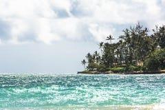 Kanaha plaży park w Maui, Hawaje Obrazy Royalty Free