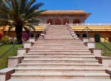 Kanak vrindavan temple, Jaipur Rajasthan India. Kanak vrindavan temple with its its beautiful garden situated next to kanak vrindavan mahal. Built by king swai Royalty Free Stock Photo