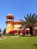 Kanak vrindavan temple, Jaipur Rajasthan India. Kanak vrindavan temple with its its beautiful garden situated next to kanak vrindavan mahal. Built by king swai Stock Image
