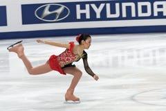 Kanako Murakami, japanische Abbildung Schlittschuhläufer Stockfoto