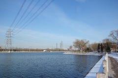 Kanal Lizenzfreies Stockbild