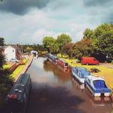 kanal stockfoto