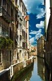 Kanal auf Venedig Lizenzfreie Stockfotos