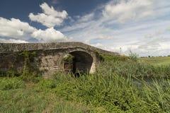 Kanal av Bereguardo (IMilan) Royaltyfria Foton