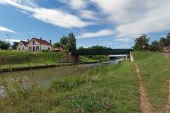 Kanal av Briare royaltyfria bilder