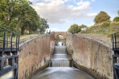 Kanal av castilen, Spanien arkivbild