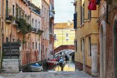 Kanal av Italien royaltyfri foto