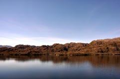 Kanal av Magellan Royaltyfria Foton