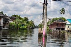 Kanal Bangkok lizenzfreie stockbilder