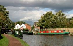 Kanal-Boote stockfoto