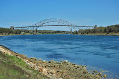 Kanal-Brücke Stockfotos
