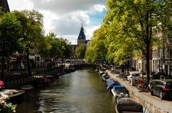 Kanal-Charme Stockfoto