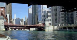 kanal chicago Royaltyfri Bild