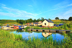 kanal clyde framåt scotland Arkivfoton
