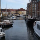 kanal copenhagen fotografering för bildbyråer