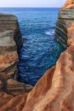 Kanal d& x27; Liebe - Korfu - Griechenland Stockfotos