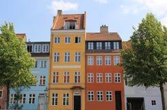 Kanal de Christianshavn Fotos de Stock Royalty Free