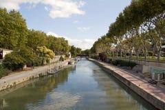 kanal de la robin Royaltyfri Bild