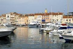 Kanal des Heiligen Tropez Lizenzfreies Stockfoto