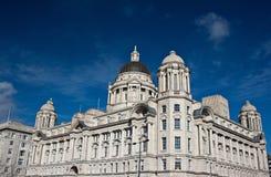 Kanal des Liverpool-Gebäudes Stockfotografie