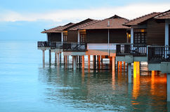 Kanal Dickson, Malaysia lizenzfreie stockbilder