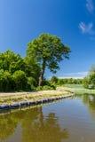 Kanal Elblaski Polen Stockbild