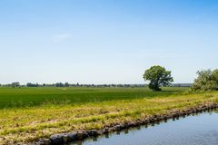 Kanal Elblaski Polonia Fotografia Stock Libera da Diritti