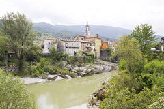 Kanal em Slovenia Fotos de Stock