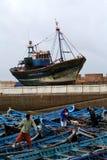 Kanal in Essaouira #6 Stockfotografie