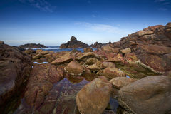 Kanal-Felsen, Dunsborough, West-Australien Lizenzfreie Stockbilder
