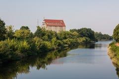 Kanal Gliwice lizenzfreies stockfoto