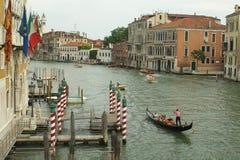 Kanal groß Stockbild