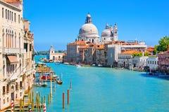 Kanal groß in Venedig, Italien Lizenzfreie Stockfotos