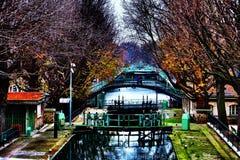 Kanal-Heiliges Martin Stockbilder
