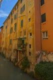 Kanal herein über Pella-Bologna lizenzfreie stockbilder